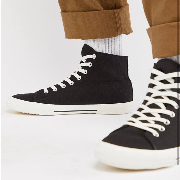 ASOS Other - Black High tops